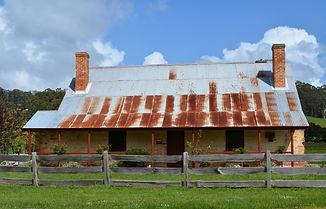 Convict long hut at Premadyna