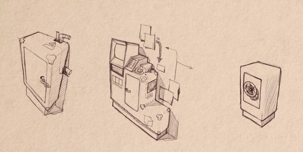 Model sheets - Apparatus