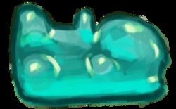 Gum bear blue - Tardis Robot