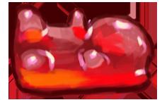 Gum bear Red - Tardis robot