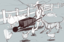 Apple Farm sketch