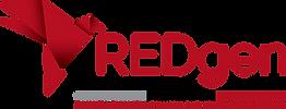 REDgen logo horizontal with tagline and