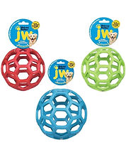 JW dog treat toy. One of the best dog treat toys, used by Stroganoff the doxie.
