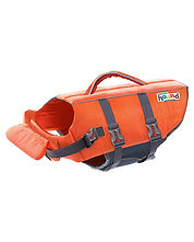 One of the best dog life vests available. Stroganoff the dachshund uses it to stay safe.