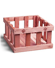 Dog Toy Box (toybox) for dog toys, Made in the USA.