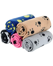 Dog blankets for little dogs and pets. Some of the best dog blankets available in a variety of colors.