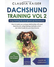 Dachshund Training Volume 2 by Claudia Kaiser. One of the best doxie (dachshund) care books available.