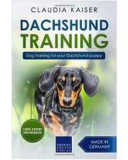 Dachshund Training by Claudia Kaiser. One of the best doxie (dachshund) training books available.