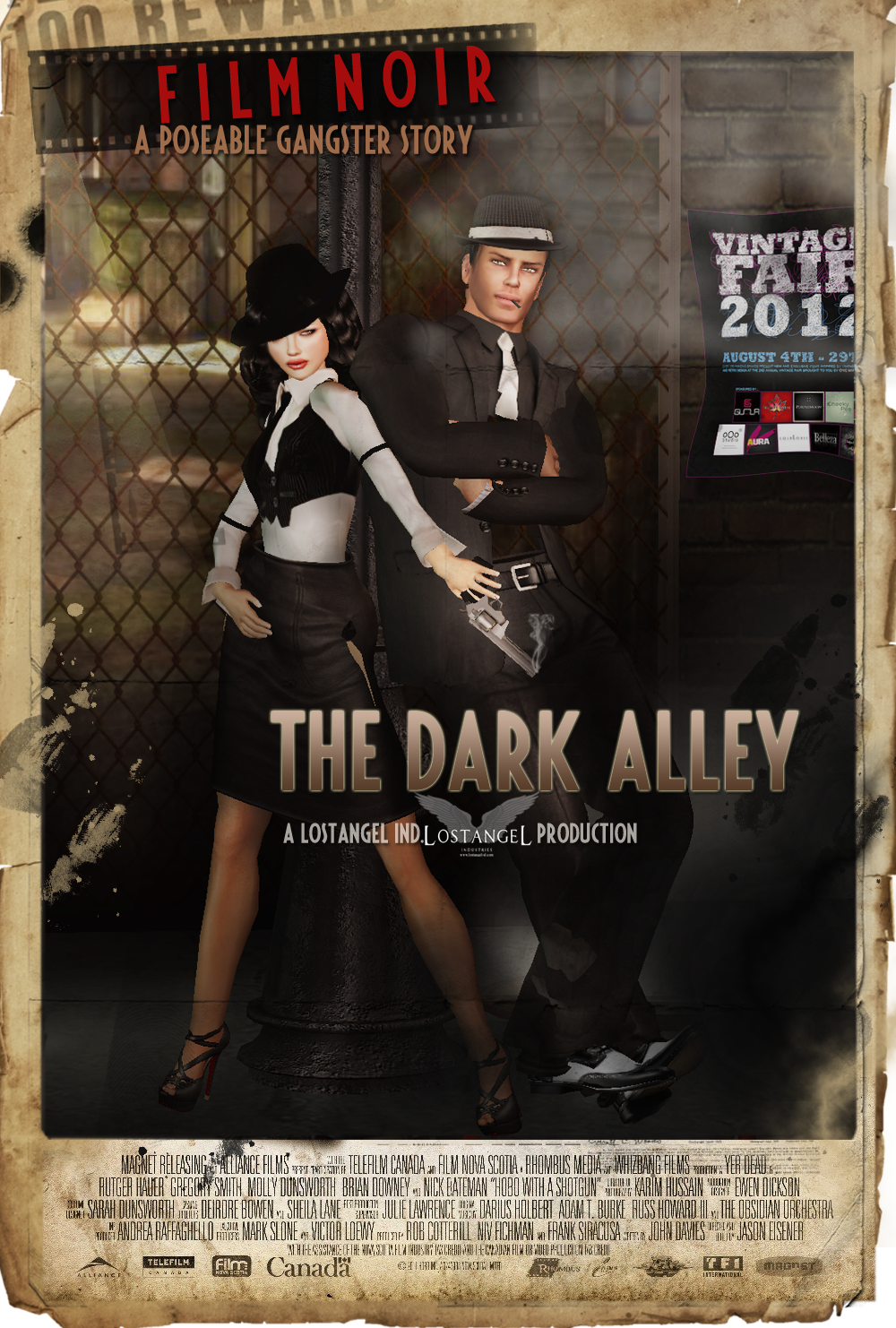 The Dark Alley Multipose