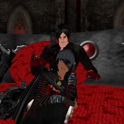 Horror -goth themed sim