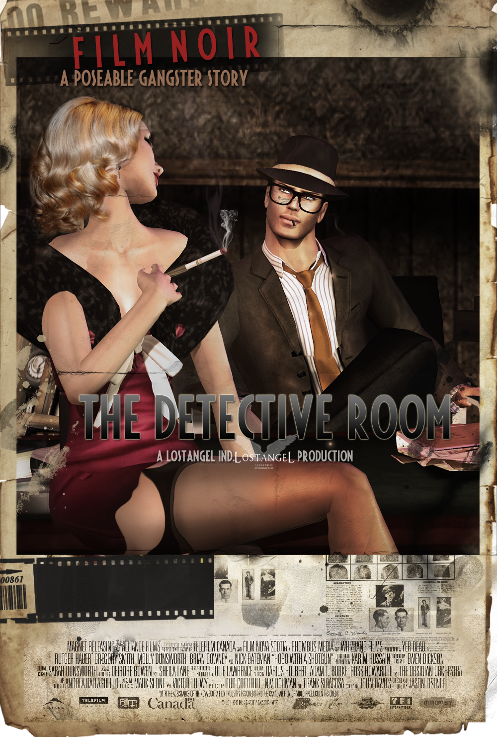 Detective Room