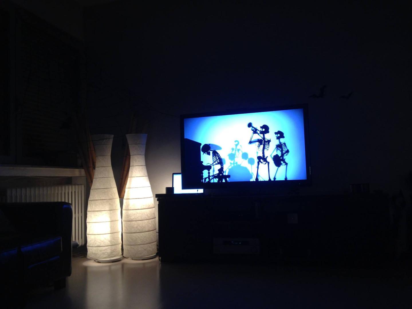 Sala da ballo decorazioni tv