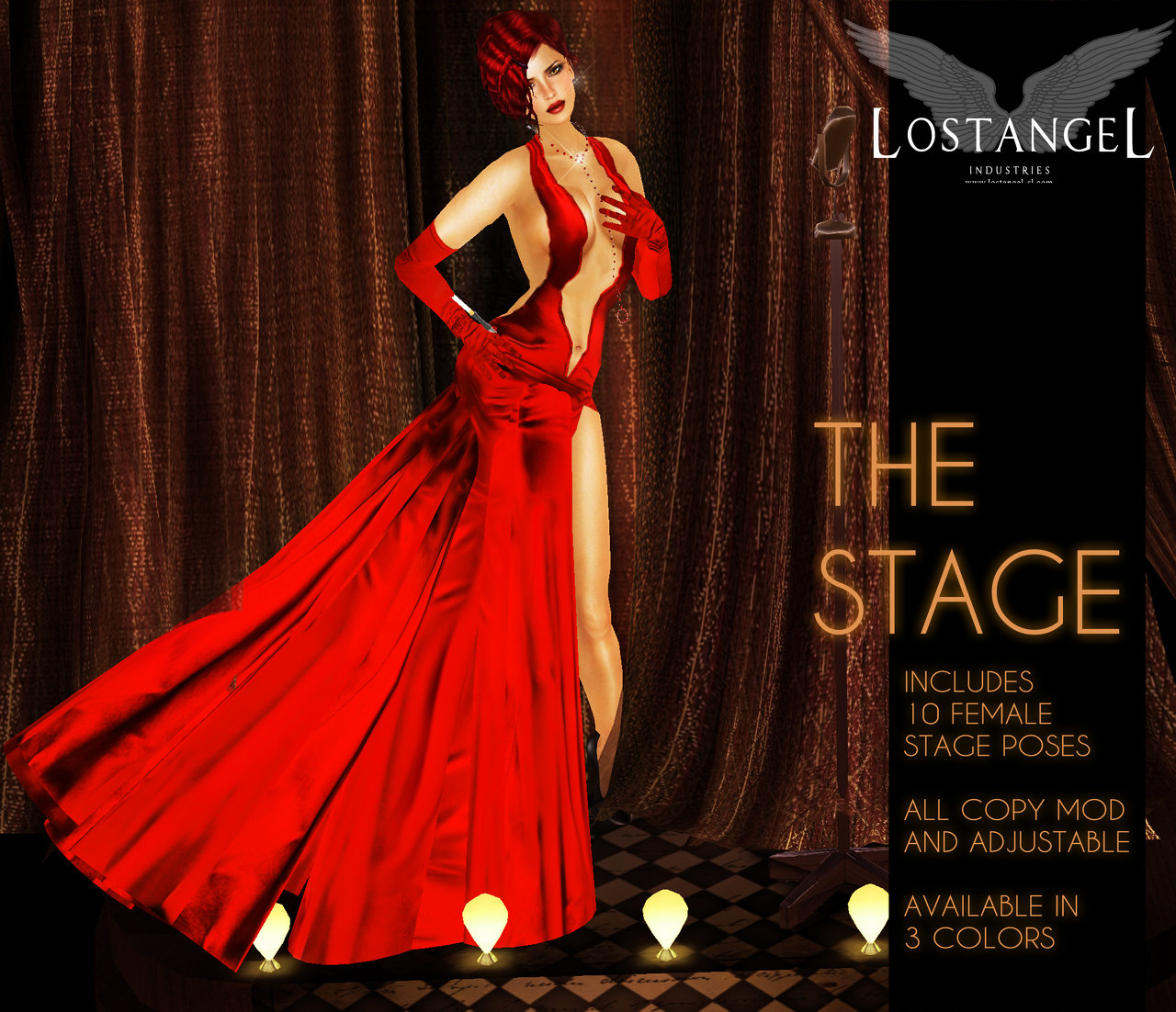 The Stage (red)