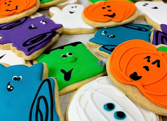 6 Assorted Halloween Cookies (5 Day Lead Time)
