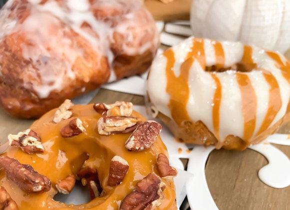 Fall Harvest Cake Donuts $2.00 Each (Minimum of 3)