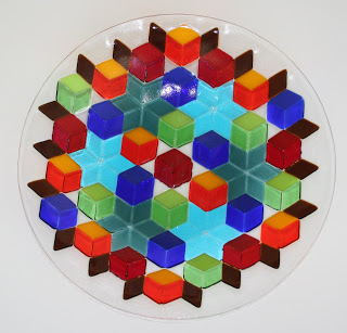 Optical Squares Bowl