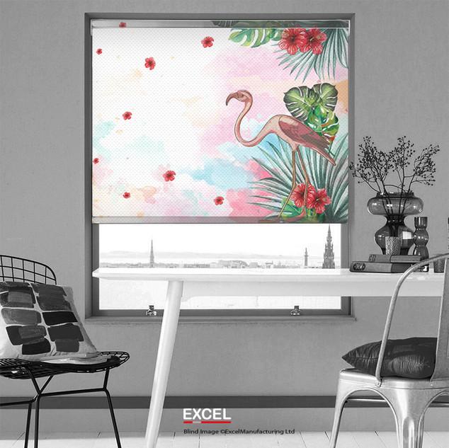 flamingo digital print