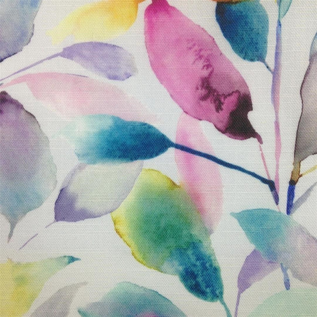 Brympton Lotus Cream Soft Roll Blind A fabulous all over leaf design combining a myriad of blending colours. Voyage Softroll Blinds are a new evolution of the roller blind, featuring a selection of our signature handpainted watercolour designs from the Voyage Design Studio. Our trademark Softroll Blinds are digitally printed in our in-house print works, perfectly capturing the brands unique painterly style. Soft cotton linen, combined with a three-pass blackout backing, allows our original designs to look beautiful in your room even in direct sunlight. The blind retains the natural handle and soft drape of the fabric without stiffening the cloth.