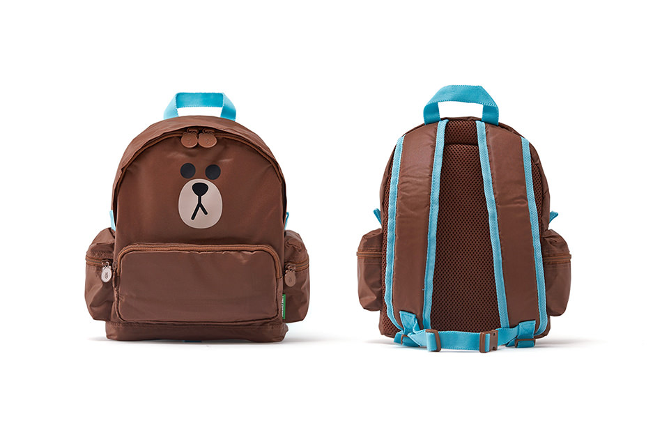 LINE FRIENDS KIDS BACKPACK_BROWN
