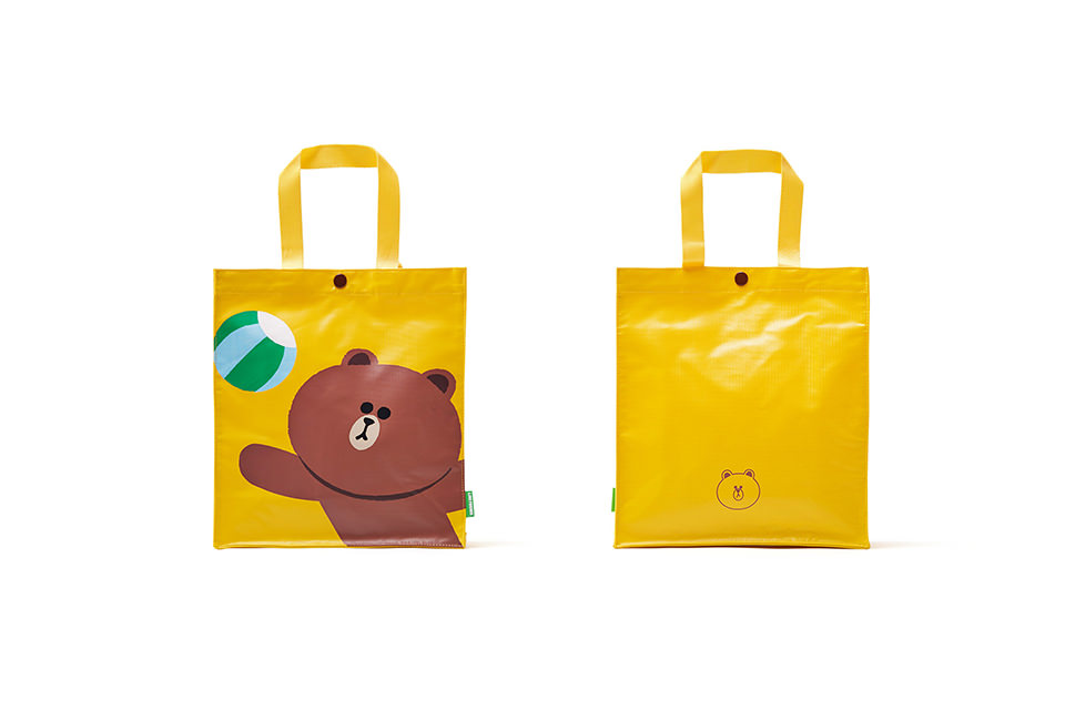 LINE FRIENDS HAND BAG_BROWN