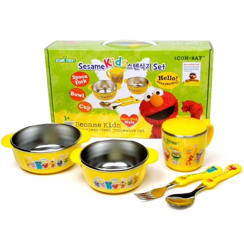 SESAME STREET KIDS TABLEWARE SET
