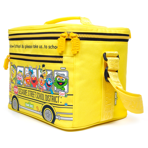 SESAME STREET BOX COOLER BAG