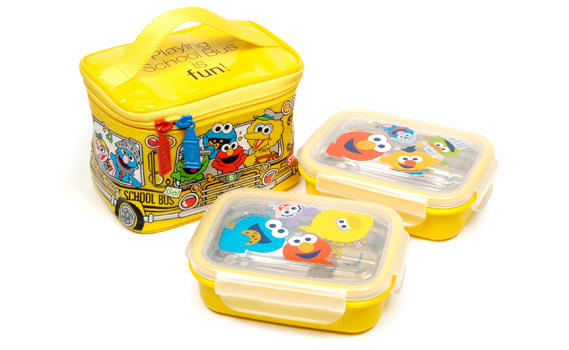 SESAME STREET LUNCH CASE SET