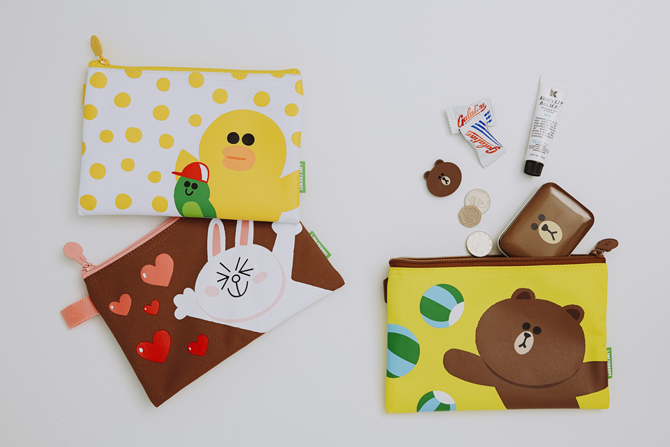 LINE FRIENDS MINI POUCH