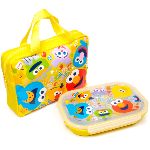 SESAME STREET KIDS LUNCH CASE SET