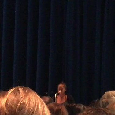 My first performance!