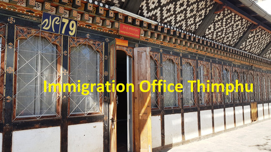 immigration office thimphu
