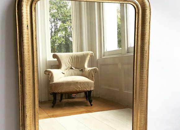 SOLD Gilt Arch Louis Philippe French mirror