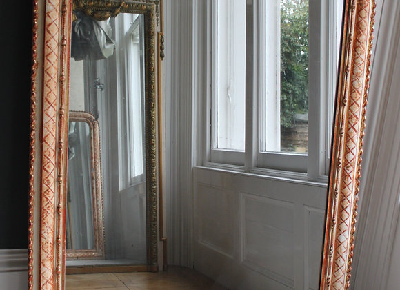 SOLD Large 19th Century French Gilt Mirror