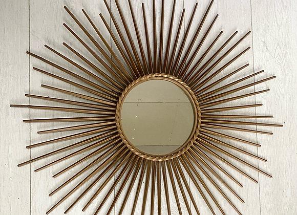 Vintage Chaty Vallauris sunburst mirror