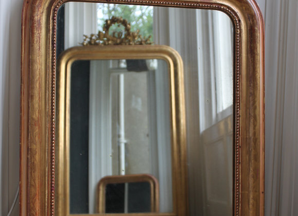 sold Gilt Louis Philippe arch mirror