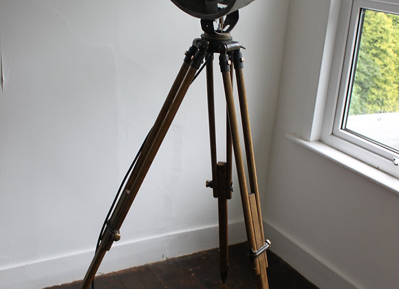 bullfinch searchlight on wooden tripod