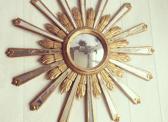 SOLD Italian sunburst mirror