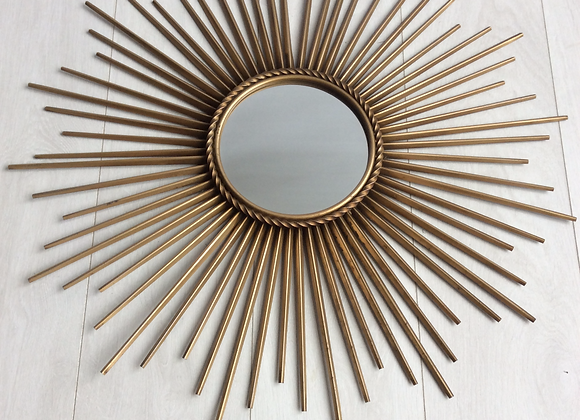 SOLD Chaty Vallauris sunburst mirror