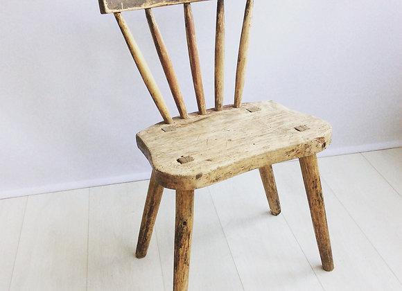 SOLD Primitive Dalarna Swedish chair