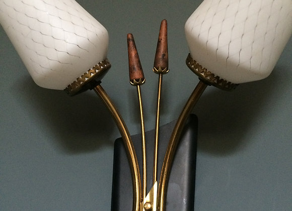 Pair of mid century Italian sconces