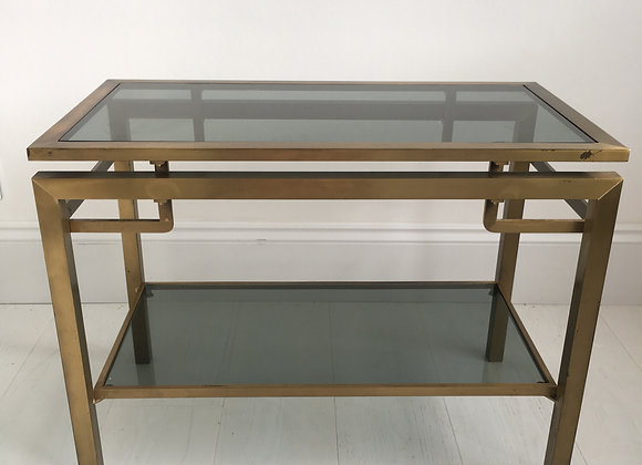 Gilt brass console table/side table
