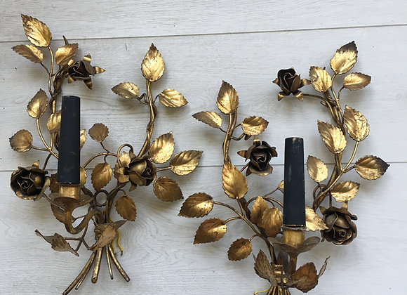 Vintage French Gilded sconce/wall light