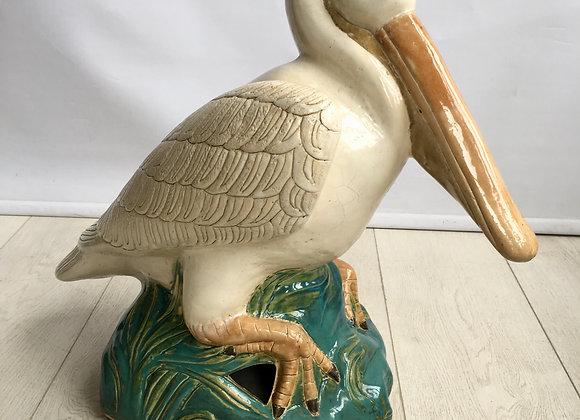 Large Italian ceramic Pelican