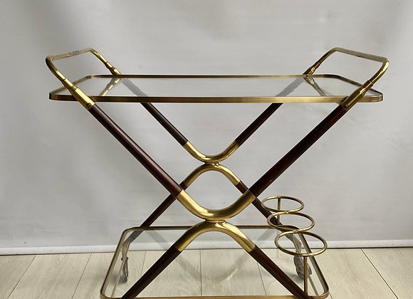 SOLD Mid century Cesare Lacca drinks trolley bar cart ref 2230