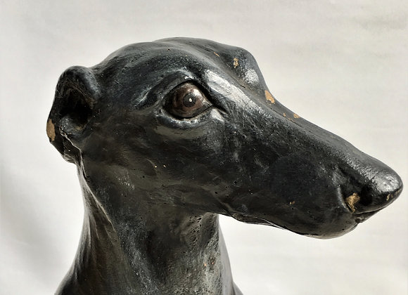 SOLD Vintage stone whippet