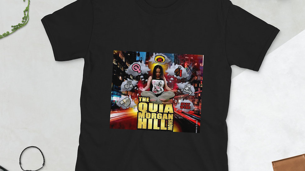 Meditation Thoughts of Quia Morgan Hill Short-Sleeve Unisex T-Shirt
