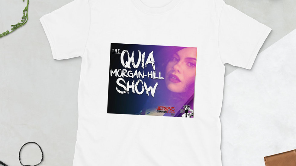 The Face of Quia Morgan- Hill Short-Sleeve Unisex T-Shirt