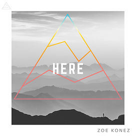 Zoe Konez - Here (acoustic) cover image