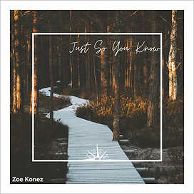 Just So You Know cover image - Zoe Konez