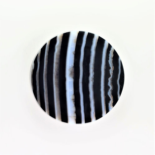 SOX:RD672 (SBBT) (Black & White Striped Onyx)